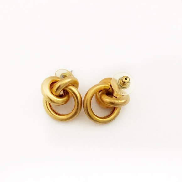 Vintage Jewelry - 2/$25 Vintage Small Chain Earrings